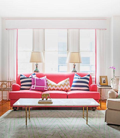 διακόσμηση σπιτιού καναπές κοαλί χρώμα
