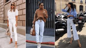 Άσπρο Παντελόνι: Πως να το φορέσεις όλο τον χρόνο
